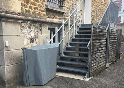 Pose d'une Plateforme élévatrice en Seine-et-Marne