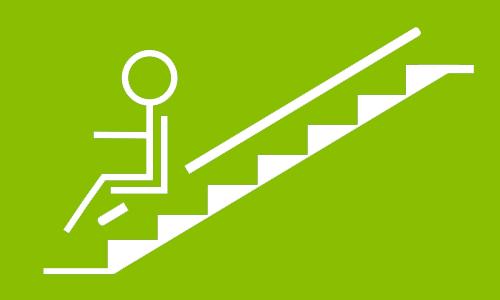 Domustill installe des fauteuils monte-escalier PMR